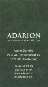 Adarion Renovatie